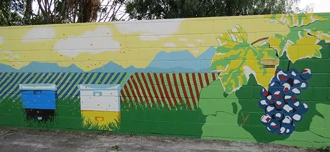 Bee Friendly Mural