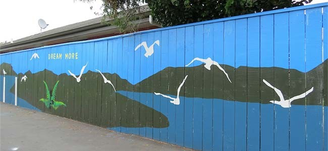 Blenheim Mural - Social Sheep